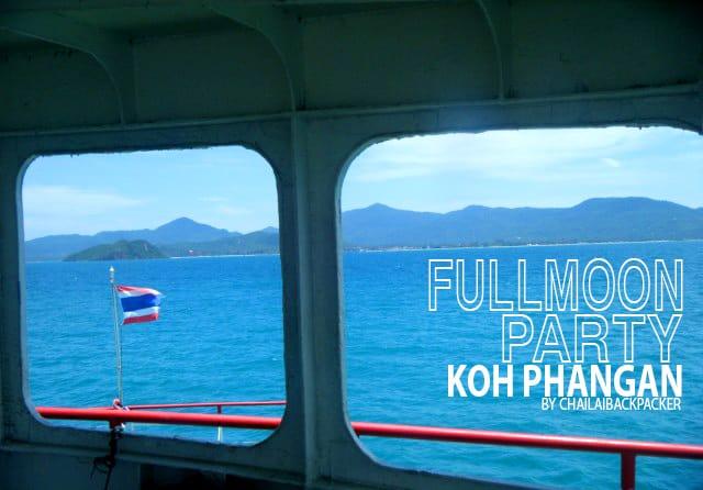 เดินทางจากท่าเรือดอนสักมุ่งสู่เกาะพงัน