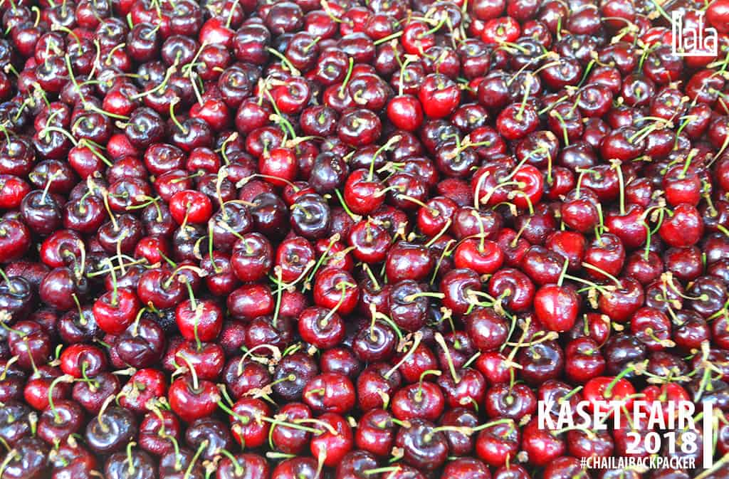 04 #เชอร์รี่ #พิกัด : โซน F สินค้าเกษตรบริโภค