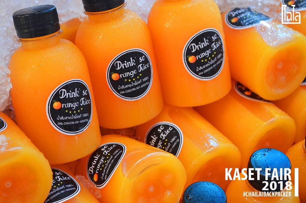 24 #น้ำส้มสด น้ำส้มสายน้ำผึ้งสดแท้ 100% #พิกัด : โซน F สินค้าเกษตรบริโภค