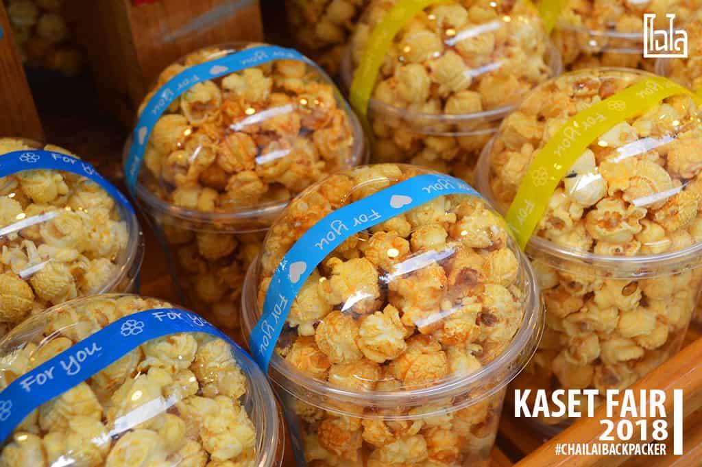 41 #Popcorn หลายรส #พิกัด : โซน E ตลาดนนทรีวิถีเกษตร(บริเวณสำนักพิพิธภัณฑ์)