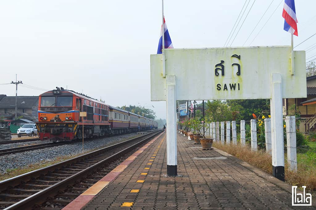 Sawi Chumphon Train