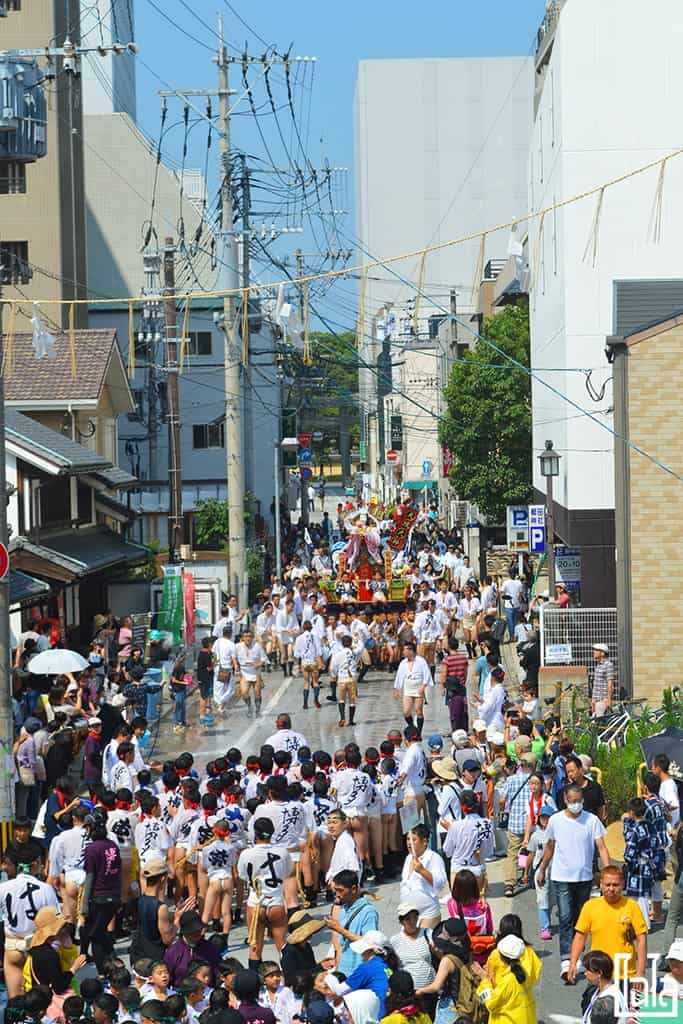 FUKUOKA: Hakata Gion Yamakasa Festival