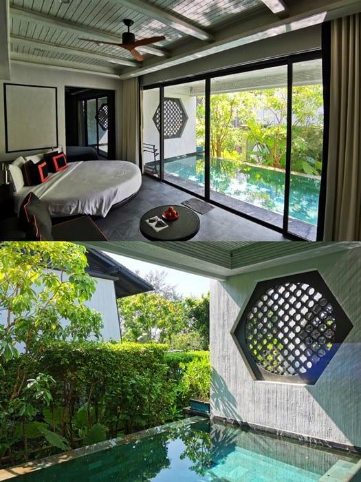 ห้องแบบ Pool Suite